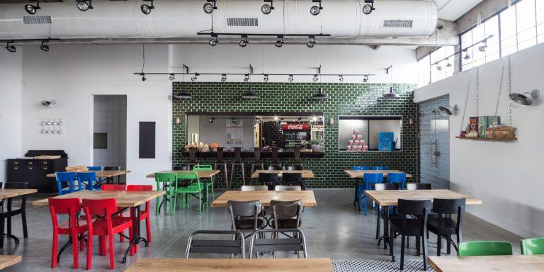 עיצוב תעשייתי מסעדה